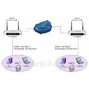 Объединение удаленных офисов в одну сеть через VPN фото