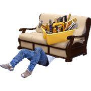 Перетяжка мебельной ткани фото