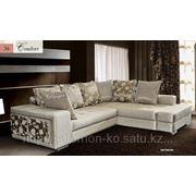 Перетяжка диванов с кожзаменителем фото