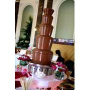 Аренда шоколадного фонтана фото