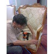 Обивка и перетяжка мебели фото