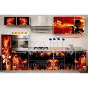 """Кухни на заказ с фасадами из нанопластика """"Nova-Glanz"""" (Германия) Подробнее... фото"""