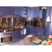 Кухонный гарнитур из пластика фото