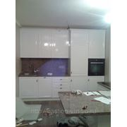 Кухня прямая МДФ фото