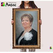 Парадный портрет пастелью с фото на заказ. фото