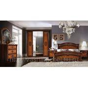"""Спальня """"Карина 2"""" модульная, МДФ, итальянские фасады, шелкография фото"""