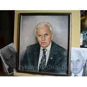 Портреты по фото маслом на холсте фото