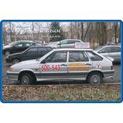 Оклейка учебных автомобилей отечественного производства фото