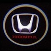 Проекция логотипа Honda фото