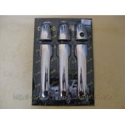 Накладки на ручки MB Vito W639 04'-...(сталь)3шт фото