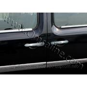 Накладки на ручки Renault Kangoo (2008+) (нерж.) 3 дверн фото