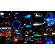 Диодная подсветка в автомобили VOLKSWAGEN Донецк. фото