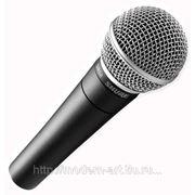 Вокальный микрофон - SHURE SM58 фото