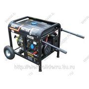 Электрогенератор DY6500LXW с функцией сварки, с колёсами фото