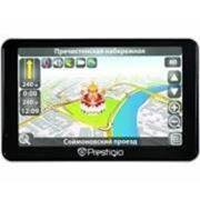 Навигатор Prestigio GeoVision 5660GPRSHD, черный фото