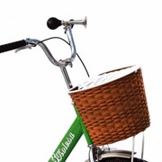 Велосипед трехколесный КОМФОРТ зеленый фото