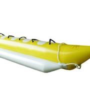 Банан надувной, буксируемый пляжный аттракцион, 4-х местный фото
