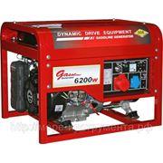 Генератор DDE DPG7553E - в аренду, бензиновый, 400 В/220 В, электростартер, 7 кВт, 86 кг фото