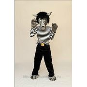 Прокат детского карнавального костюма Волк из «Ну, погоди» фото