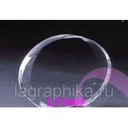 Объёмная лазерная гравировка фото в стекле (кристалле) - Овал гранёный 102х85х30 фото