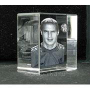 3D (3Д) фото в стекле (кристалле) - лазерная гравировка фото