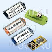 Гравировка USB флеш-карт фото