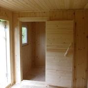 Деревянные дачные бытовки, домики и беседки от производителя. фото
