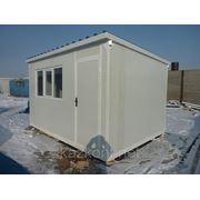 Вагончик под офис, мобильное здание (модульное здание) 4,0*2,5*2,6 м фото