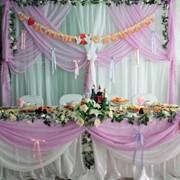 Оформление залов для свадеб, юбилеев фото