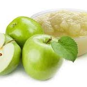 Натуральное яблочное пюре фото