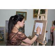 Курс живопись, рисунок 32 занятия утренние группы фото