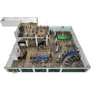 Коммерческий тренажерный зал площадью 451 м.кв. фото