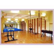 Оборудование и инвентарь для спортивного зала школы, учебных заведений / Устаткування для спортзалу фото