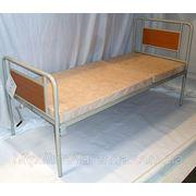 Аренда функциональной кровати OSD с подъемом головы и медицинским матрасом в комплекте. фото