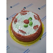 Торт Клубничный аромат фото