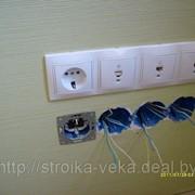 Услуги электрика в Алматы. Электромонтаж квартир, коттеджей. фото