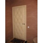 Обивка деревянных дверей фото