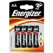 Батарейка AA щелочная Energizer LR06-4BL MAX в блистере 4шт. фото