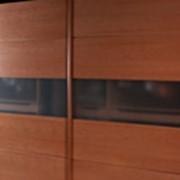 Шкаф купе из безопасного стекла. фото