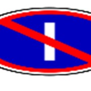 Стоянка запрещена по нечётным числам месяца (2 типоразмер) фото