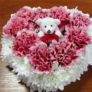 Торт из цветов фото