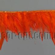 Перо-юбка оранжевая 8-13см/48-50см 570433 фото