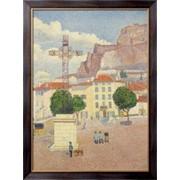 Картина Ле-Пюи, площадь под солнцем,1889-90, Дюбуа-Пилле, Альберт фото