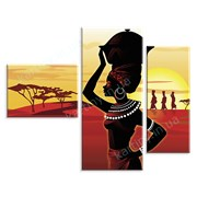 Картина Африка фото