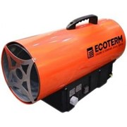 Газовая тепловая пушка ECOTERM GHD 15 фото