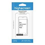 Защитная пленка для Highscreen Power Rage глянцевая фото