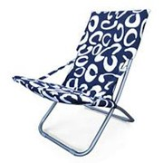 Кресло складное Белла-1 CHO-134B-1H-1E Blue (120х61х85) фото