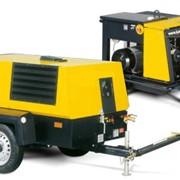 Строительные дизельные компрессоры фото