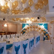 Эксклюзивное оформление свадьбы воздушными шарами фото