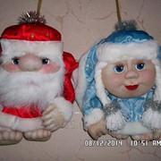 Сувенир Дед Мороз и Снегурочка фото